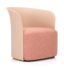 Elite Teo Tub Chair Mocha Shell