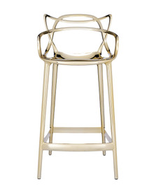 Kartell Masters Stool Metallic Gold
