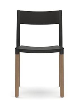Allermuir Folk Side Chair - Plastic Seat & Back