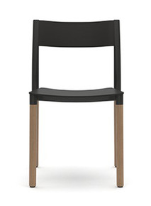Allermuir Folk Side Chair - Plastic Seat & Back