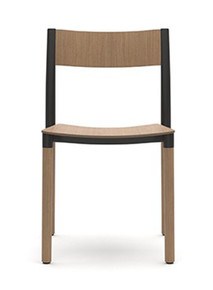 Allermuir Folk Side Chair - Wood Seat & Back