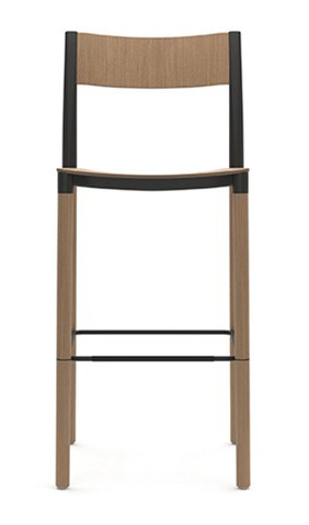 Allermuir Folk High Stool - Wood