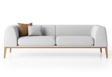 Lyndon Design Maysa 3 Seater Sofa - Front View