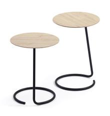 Orangebox Lapwing High Table - Natural Davos Laminate