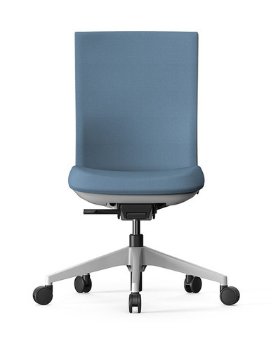 Actiu Stay Task Chair - Tex Upholstered Mesh Back - Armless