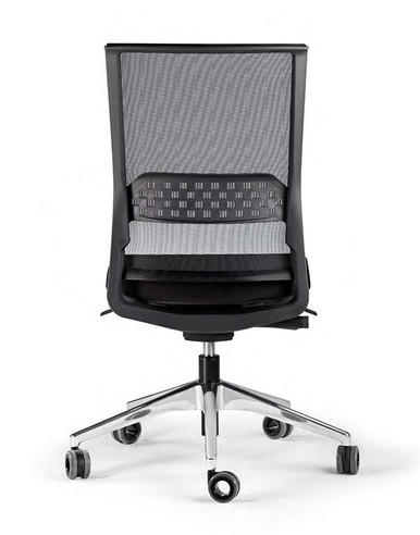 Actiu Stay Task Chair - String Technical Mesh Back - Armless