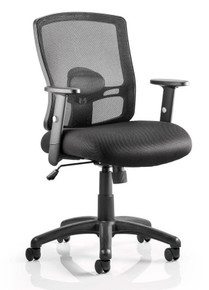 Dynamic Portland Mesh Task Chair Front