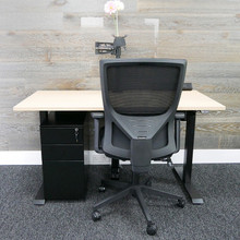 QUICK SHIP Home Office Bundle 1 - Alto (Height Adjustable)