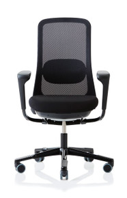 QUICK SHIP HAG SoFi 7500 Mesh Task Chair - Black