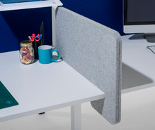 Wedge Desk Mounted Divider/Privacy Screen