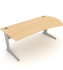 Kassini Radius Executive Desk