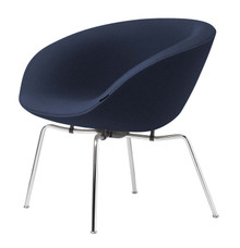 Fritz Hansen Pot Lounge Chair By Arne Jacobsen - Christianshavn
