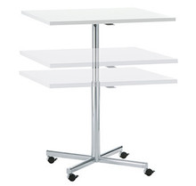 Brunner Torino Centre Column Table (height adjustable)