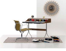 Vitra George Nelson Desk with Eames Alumnium Chair Homeworking Bundle