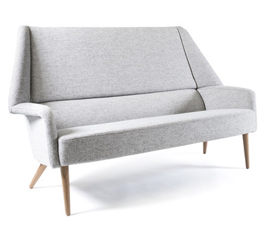 Ernest Race Flamingo Sofa - Front Angle View