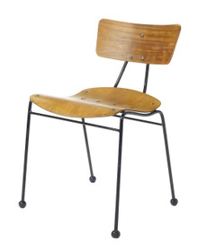 Ernest Race Roebuck Chair - Front Angle View