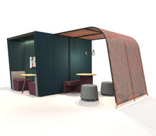 Orangebox Campers and Dens configuration - Cabins with Awning
