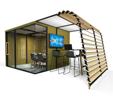 Orangebox Campers and Dens - Awning (Plywood Slats)