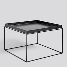 CLEARANCE HAY Tray Table / Coffee Side Table - Black