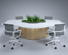 HK Designs Spaces Collection - Space 2 Create Collaboration Table
