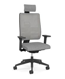 Viasit Toleo Task Chair - Mesh Back - Black - Front View