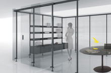 Product Code: SCP 01. The POLE partition system from Luconi.