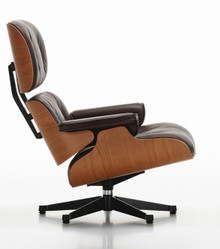 Vitra Eames Lounge Chair and Ottoman - American Cherry