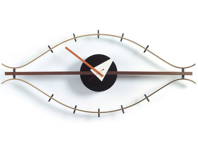 Vitra Eye Clock designed by George Nelson in 1957.