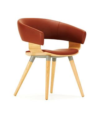 Allermuir Mollie Chair Wooden Base