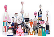 Vitra Wooden Dolls by Alexander Girard