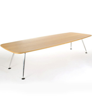 vitra medamorph boat shaped conference table. Black Bedroom Furniture Sets. Home Design Ideas