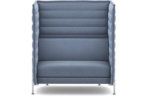 vitra alcove high back sofa. Black Bedroom Furniture Sets. Home Design Ideas