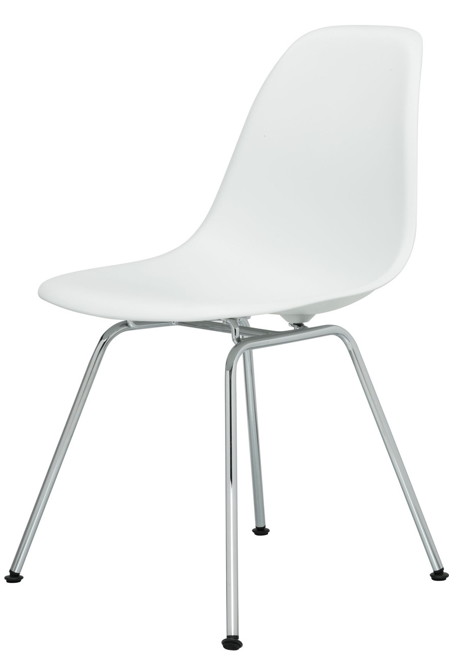 vitra eames plastic side chair dsx by charles and ray eames. Black Bedroom Furniture Sets. Home Design Ideas