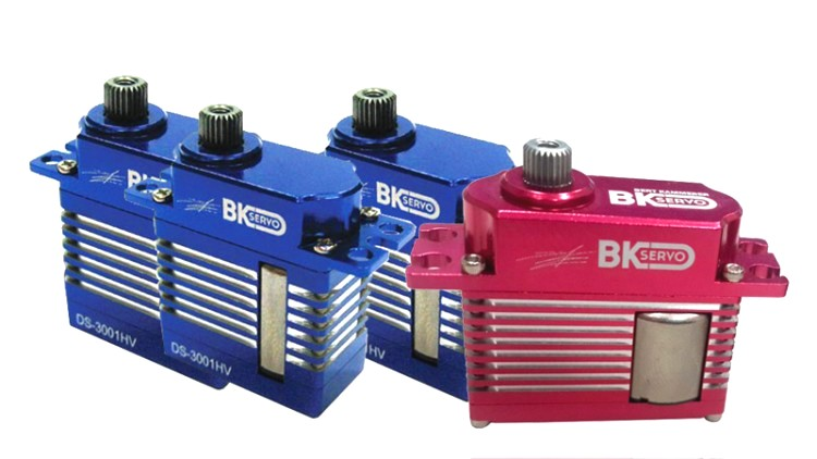 BK Micro Cyclic / Mini Tail HV Combo (4 PACK) - Goblin 380 / 420 / GAUI X3