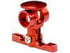 MicroHeli Precision CNC Aluminum Main Rotor Hub w/Button (RED) - BLADE MCP X