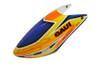 GAUI X2 Fiberglass Airbrushed Canopy - ORANGE