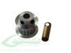 SAB Aluminum 17T Motor Pulley Z17 [H0215-17-S] - Goblin 500 / 570