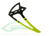Carbon Fiber Tail Fin Yellow [H0242-S] - Goblin 500 / 500 Sport