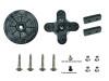 TORQ Replacement Servo Horn Set (w/hardware) - Cross & Wheel Type