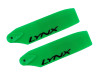 LYNX High Performance PRO 3D Tail Blades 62mm GREEN - GAUI X3