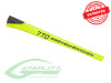SAB Carbon Fiber Goblin 770 Competition Tail Boom Yellow H0380-S