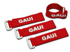 GAUI Cable Tie with Touch Fastener (RED) 280mm (4pcs) RED