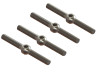 Lynx G380 Stainless Steel Turnbuckle Pitch Rod M2x22mm - (2 sets / 4pcs) - GOBLIN 380