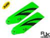 RJX Vector Green 110mm Carbon Fiber Tail Blades