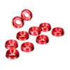 ION - M2.5 RED Aluminum Frame Washer (10 pcs)