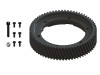 LYNX Ultra CNC Main Gear POM Outer Ring Replacment (BLACK) - GOBLIN 630/700/770