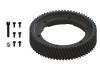 LYNX Ultra CNC Main Gear POM Outer Ring Replacment (BLACK) - GOBLIN 630/700/770