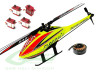 SAB GOBLIN 280 FIREBALL (with Motor and Blades) + BK SERVOS + FREE Battery