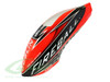SAB Fiberglass Painted Canopy - Neon Red/Carbon - Goblin Fireball