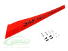 SAB Carbon Fiber Reinforced Boom(with hardware) - Neon Red - Goblin Fireball